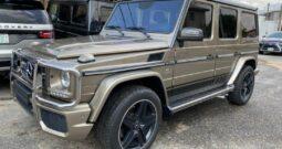 Gold Mercedes-Benz G63